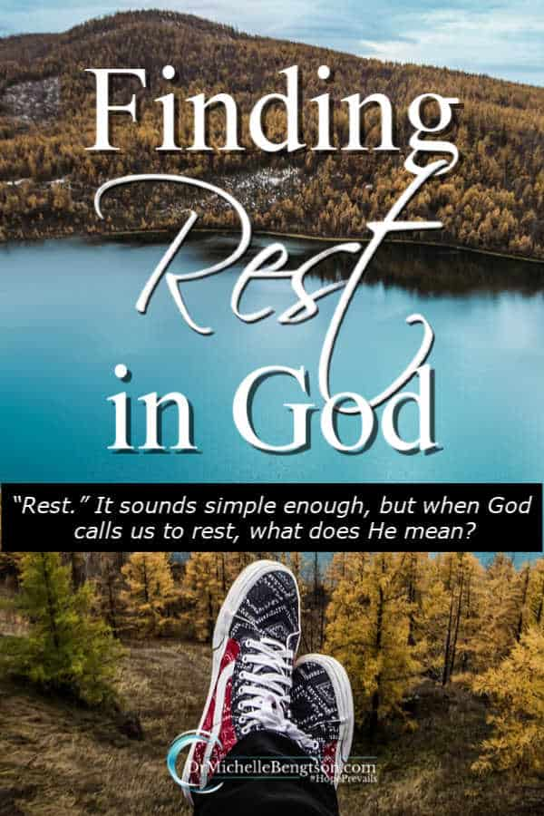 """Rest."" It sounds simple enough, but when God calls us to rest, what does He mean? God taught me how to rest. Would you like to learn? #faith"