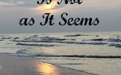 When All Is Not As It Seems