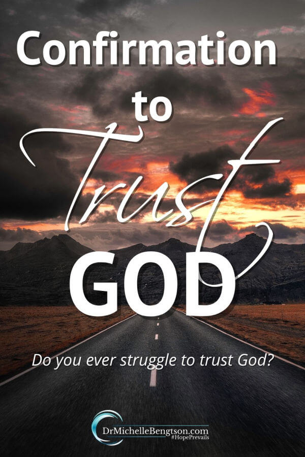 Do you ever struggle to trust God? That's where I was; wanting to more fully trust but lacking. Sometimes God has to get our attention different ways before we'll listen. He got my attention on a 3 day beach trip. It was a confirmation to trust God. That was the start of my journey to better understand how to lean on Him and trust him more deeply.