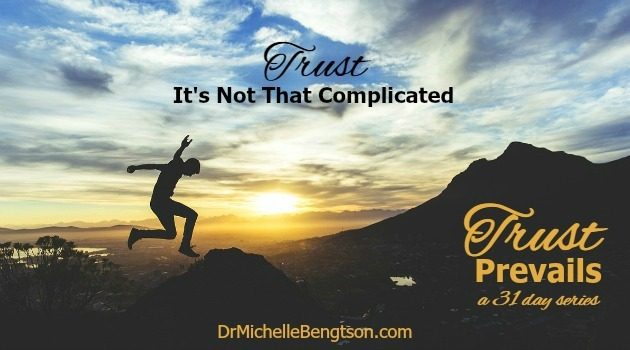 Trust: It's Not That Complicated