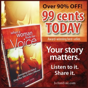 VOICE 99 cents Your Story Matters