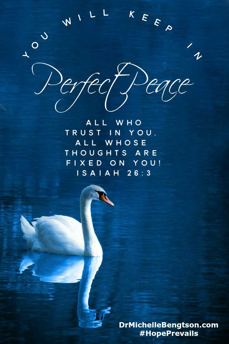 "When difficulties come, so often our first response is to ask ""why?"" Yet the answer to our why's rarely brings peace. Peace comes from trusting God despite not knowing the answer to why. Christian Inspirational Quote #BibleVerse"