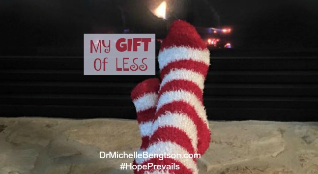 My Gift of Less by Dr. Michelle Bengtson