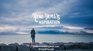 New Years Aspiration by Dr. Michelle Bengtson
