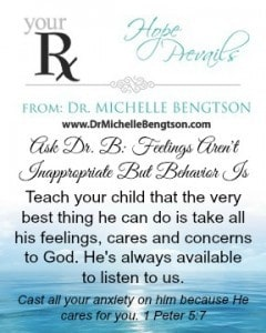Your RX Ask Dr B Feelings arent inappropriate behavior is by Dr. Michelle Bengtson