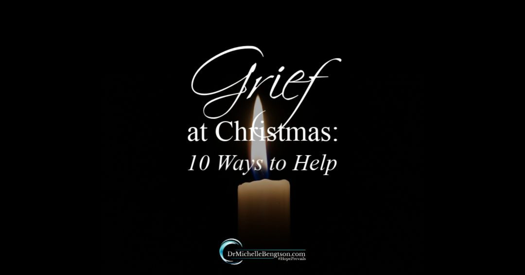 Grief at Christmas 10 ways to help and bring comfort to your loved one who is grieving.