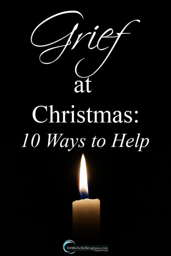 Many wonder how they can help their loved ones who experience grief at Christmas. People handle grief in different ways. How can you be there for them and provide comfort to them in their time of need? Read more for 10 ways you can help the grieving at Christmas. #grief #Christmas