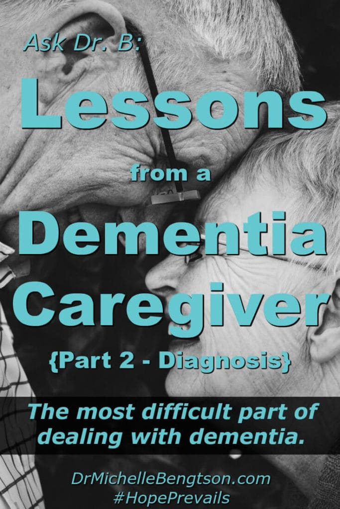 An interview with a caregiver whose wife was diagnosed with dementia. To bring awareness, this caregiver shares the most difficult aspect of his experience dealing with his wife's dementia and his advice for others in the early stages.