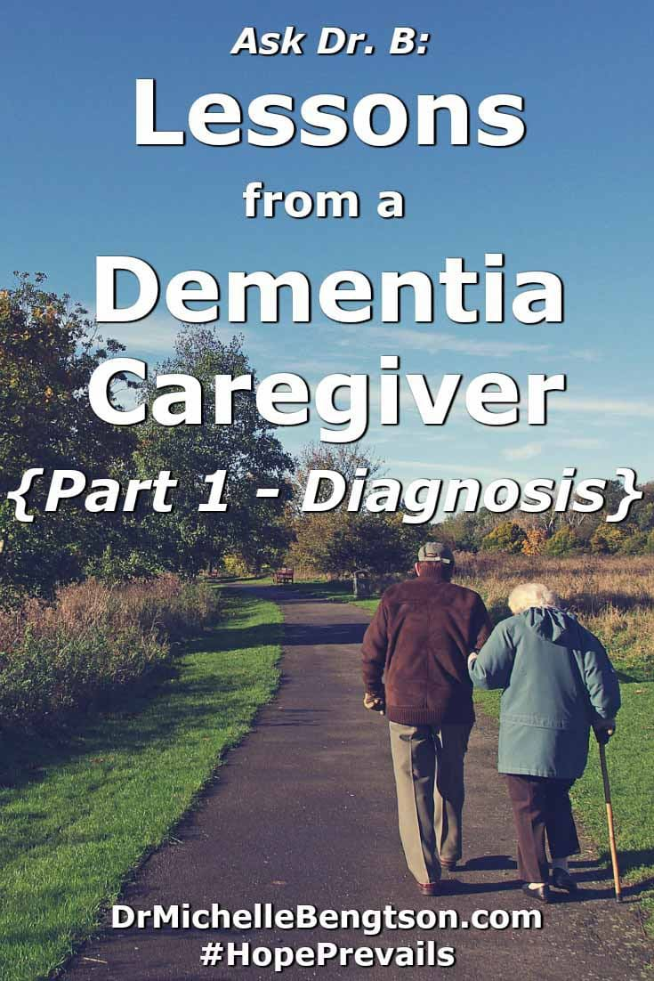 In this post, I interview a husband caregiver whose wife has dementia. He shares signs and symptoms that led them to seek medical attention. Having a diagnosis allows a treatment plan to be established and goals put into place. Read more to find out the signs and symptoms they experienced.