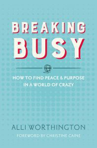Breaking Busy book review