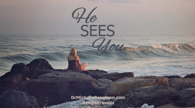 He Sees You by Dr. Michelle Bengtson
