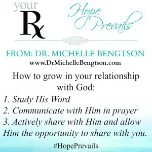 How to grow in your relationship with God