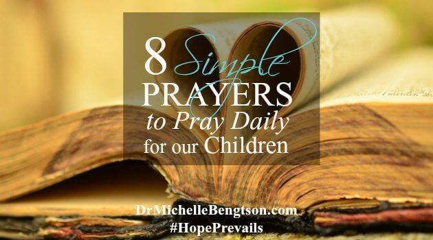8 Simple Prayers to Pray Daily for Our Children