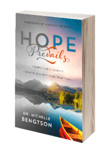 Hope Prevails Insights from a Doctor's Personal Journey through Depression Book cover front 3d 3r