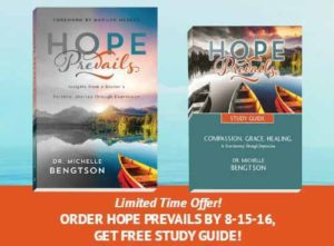 Order Hope Prevails by 08.15.16 and get a free Study Guide!