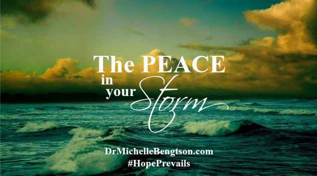 When you're searching for peace in a storm, the best answer rests in getting away. In answering God's call to spend time in His presence.