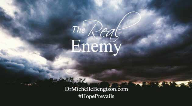 The real enemy is alive and wants to tear down the unity in families in the midst of hard times.