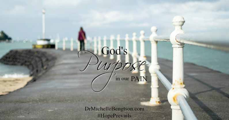 What if God's purpose for the pain in life didn't happen for you or your faith, but to encourage others through your trials?