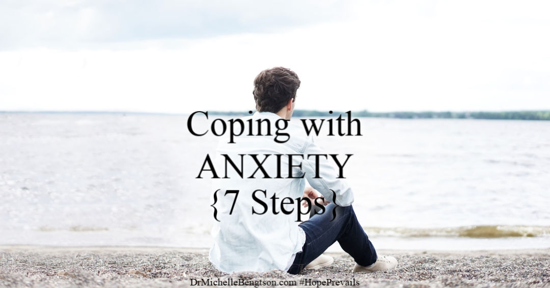Coping with anxiety, fear and worry? God gave us tools to overcome. Read more to find out how to use these 7 steps to live in victory.