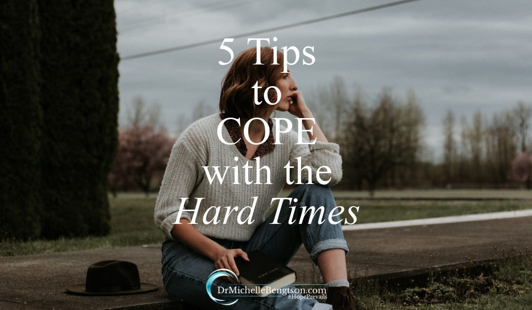Tips to cope with the hard times and help manage the stresses of life.