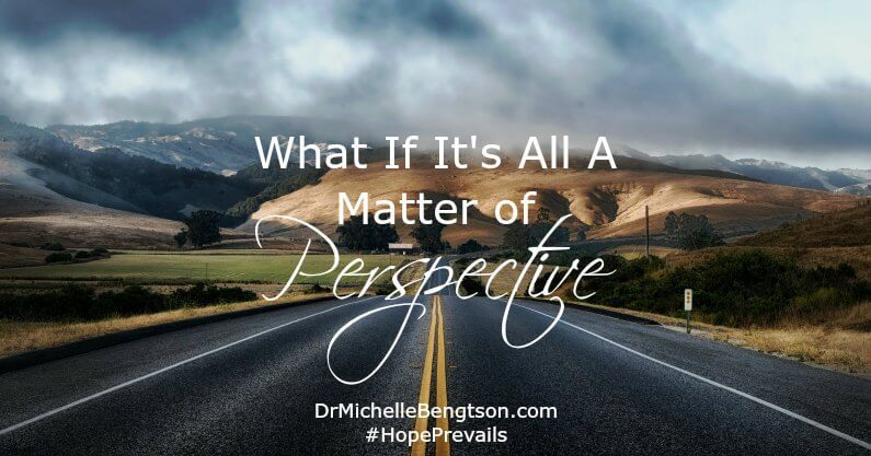 What if we trusted God more quickly in our trials and surrendered to His perfect plan? It's all a matter of perspective.