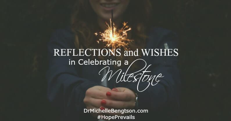 Reflections and Wishes in Celebrating a Milestone