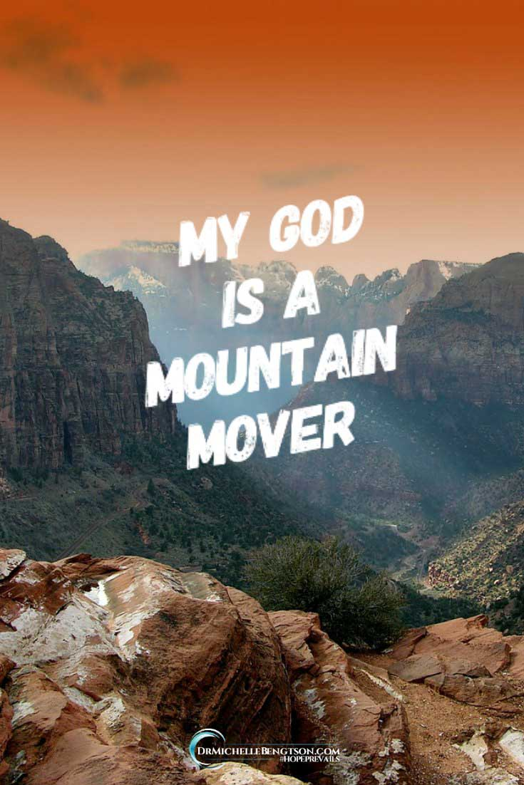 Sometimes the wait for God to move feels unbearable.There is nothing He can't do. In all of our circumstances, God remains faithful. He can tame the raging sea within my heart, and move the highest mountain of my circumstances. My God is a mountain mover. #Christianmemes #Christianquotes