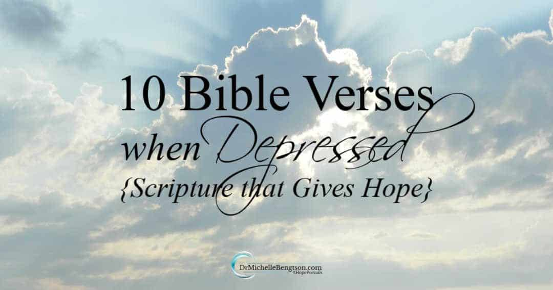 10 Bible Verses When Depressed