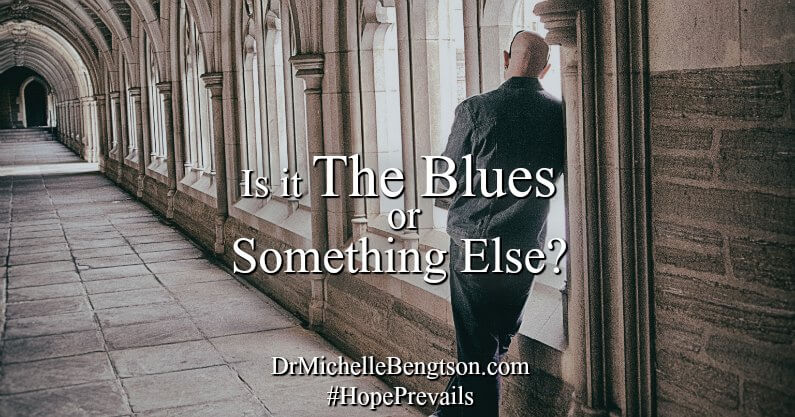 "Everyone gets the blues sometimes but what do you do when the blues don't go away? Is it the blues or something else? Answer questions on the checklist and receive Free access to ""10 Tips to Beat the Blues."""
