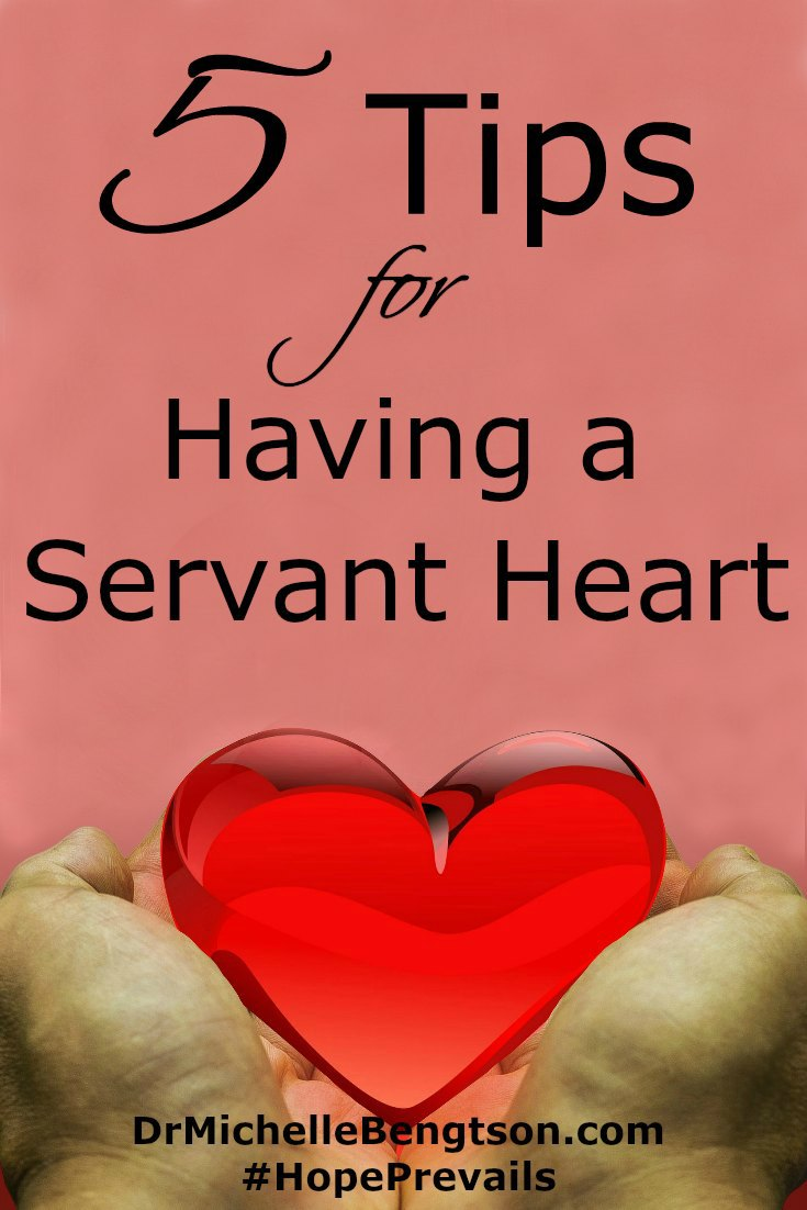 God's economy is so much different from ours. According to God, if we want to be great, we must be willing to be a servant of all. Read more for 5 tips that will help you cultivate a servant heart.