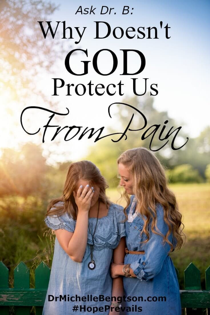 When we're facing painful circumstances, we may wonder, Why Doesn't God Protect Us From Pain? We may never know the answer to that question, but we can maintain hope in the midst of them. Stand on these 10 hope filled promises from God's word.