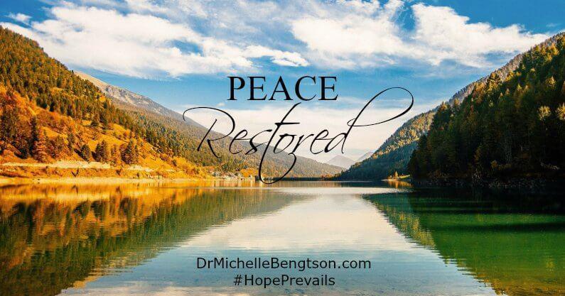 Peace Restored