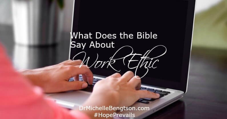 "A recent search for qualified job applicants for our private practice family led me to question, ""What does the Bible say about work ethic?"""