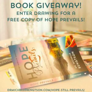 Enter the Drawing for a chance t o win a free copy of Hope Prevails!