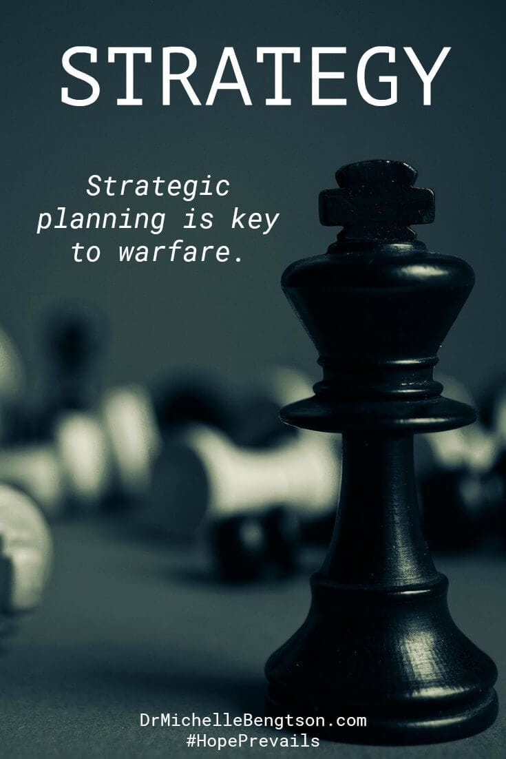 "How do you beat the enemy at his own game? Strategy and skill. Proverbs 24:6 says, ""Strategic planning is the key to warfare; to win, you need a lot of good counsel."" Read more for tools to counter enemy tactics."