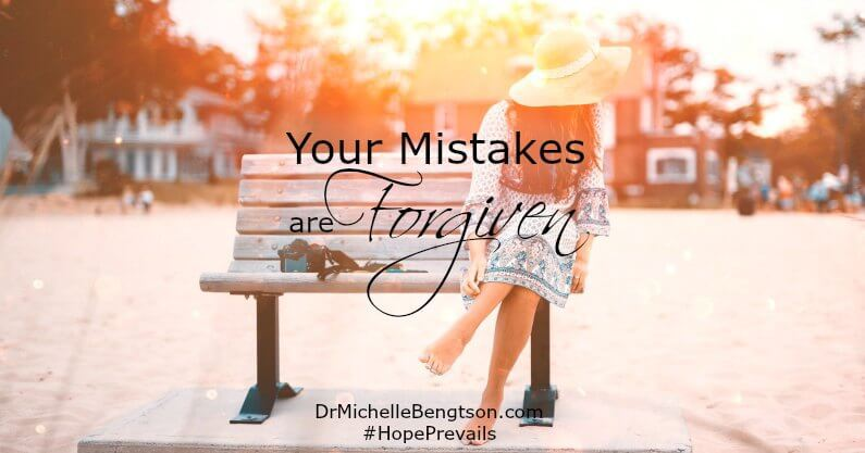 When God looks at us, He doesn't regard us with shame. In Jesus, He sees us as royal heirs to the throne. You are not your mistakes. Your mistakes are forgiven.