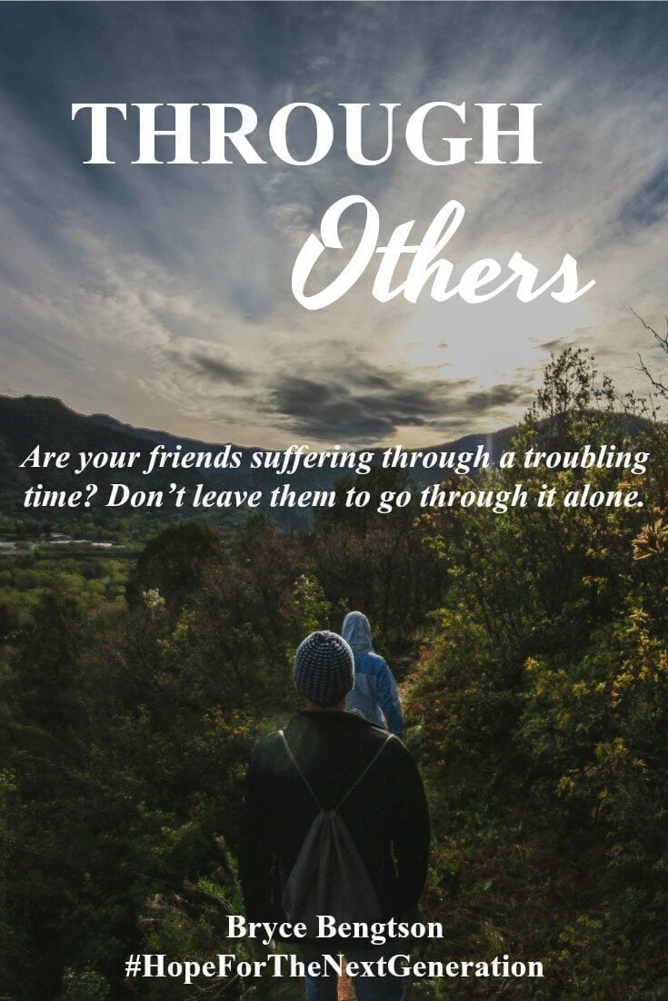 Do you have a friend going through a troubling time? Don't leave them to endure alone. Sympathize with them. Comfort them. Show godly guidance and love.