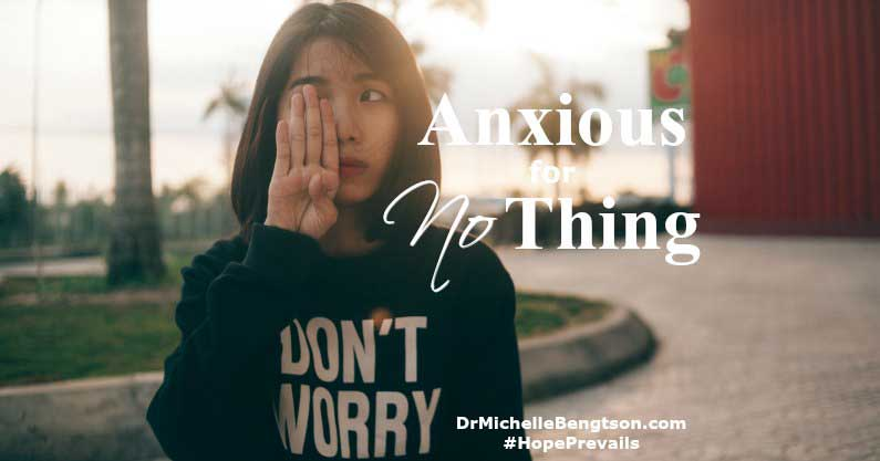 In the Bible, God says to be anxious for nothing. Do not worry. But, what's the best course of action to avoid worrying and anxiety? Read more for the answer.