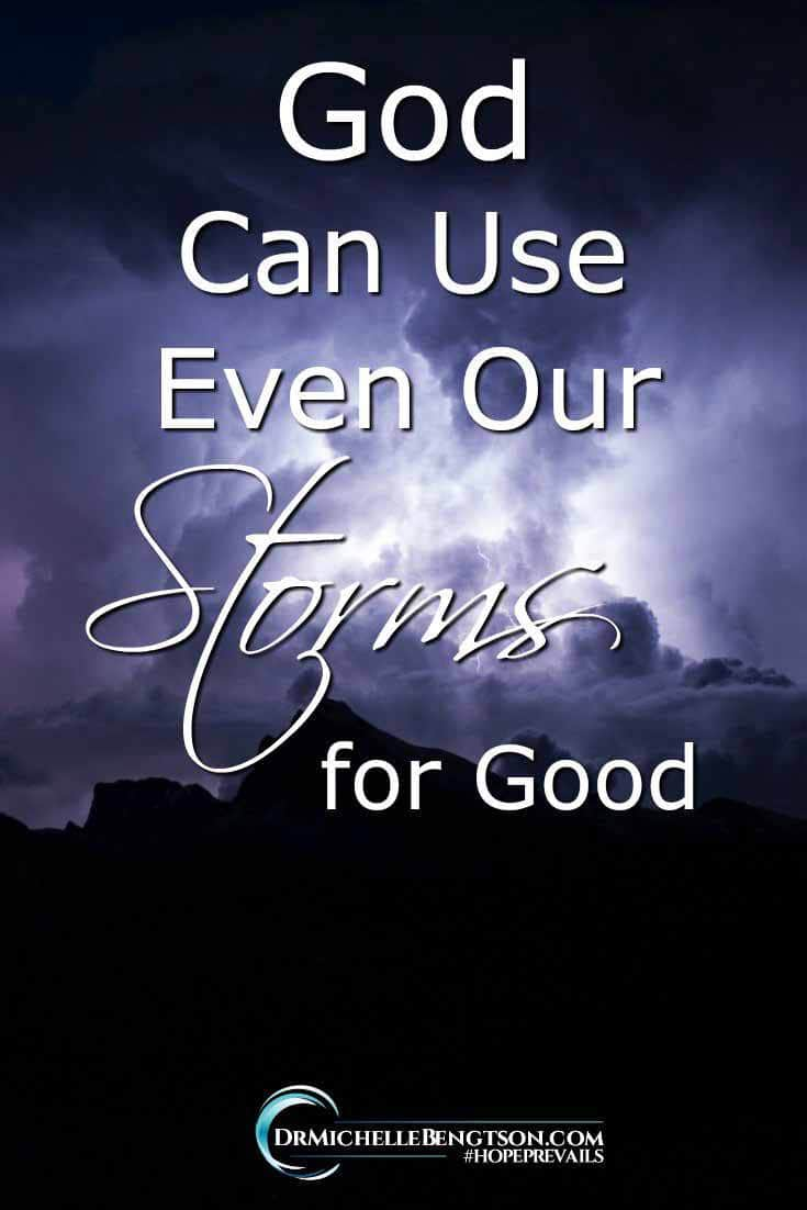 We all have storms in life—whether they are literal storms like hurricanes, or figurative storms like relationship difficulties, or health crises, or financial woes. The Bible warns us that the storms, the trials, will come. No one is exempt. How do we get through them? Read more for hope in the midst of the storm.