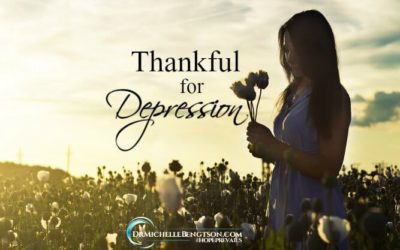 Thankful for Depression