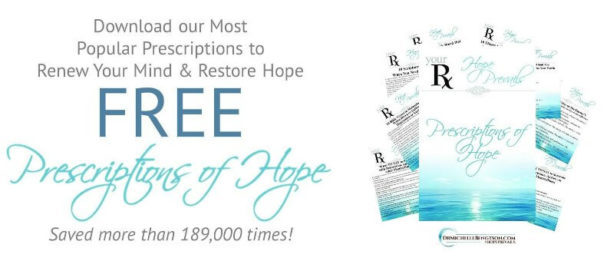 Download our most popular Prescriptions of Hope