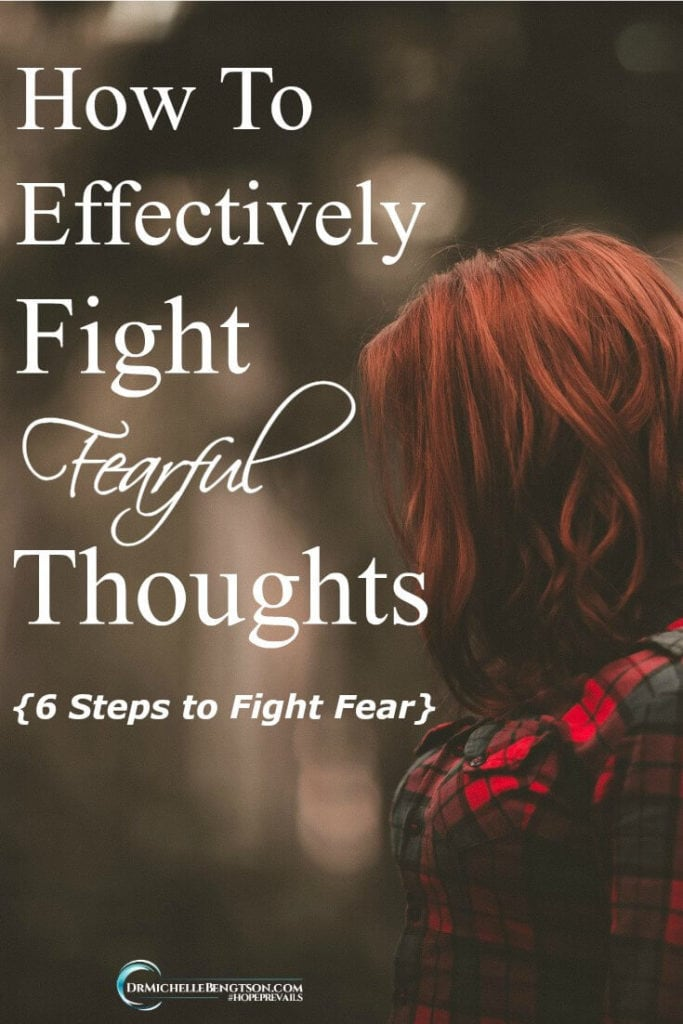 "Try as you might, you can't stop the rat wheel of fearful thoughts from spinning in your mind. You know the command to ""fear not,"" but how do you do that, practically speaking? How do you effectively fight fearful thoughts?"