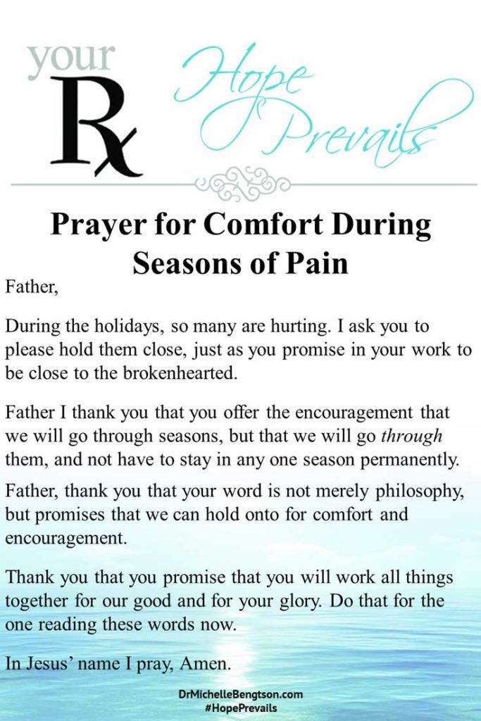 A prayer for those who are suffering difficult circumstances or seasons of pain. #prayer #encouragement #inspirational