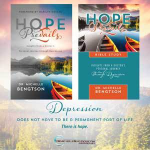 Depression doesn't have to become a permanent way of life. Find hope in Hope Prevails and the Hope Prevails Bible Study