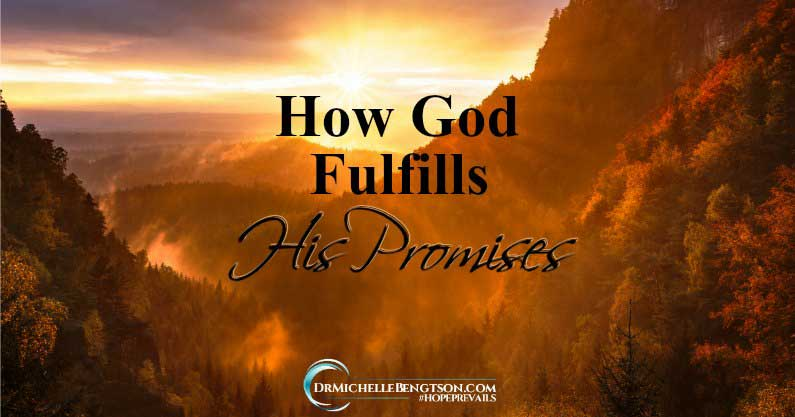 When God makes a promise, He fulfills it. Are you waiting for a move of God in your life? As you look for promises to be fulfilled, what do you see?