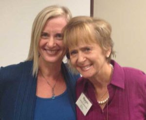 Kim Aldrich with her mentor, Mama Margie.