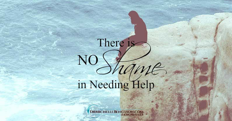 There is no shame in needing help for mental health difficulties. Mental and emotional conditions like depression and anxiety are medical conditions (our brain is our biggest organ) and are as valid as heart disease and diabetes.