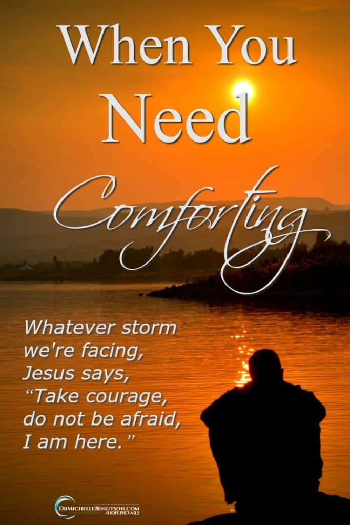 Are you facing a storm today? Are you experiencing relationship difficulties, job loss, or financial stress? He is already there. God's presence will comfort us in all our storms.