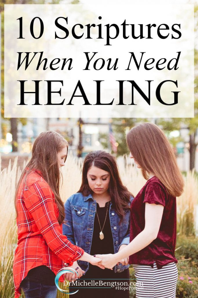 When you need healing, pray Scripture back to God. When we come into agreement with what God has already said with Bible verses and trust Him to do as He has said He will do, we know we are within God's will. #prayer #Bibleverses #scripture #faith #hope