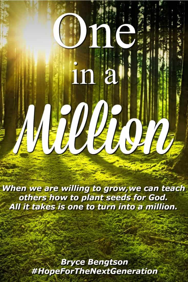 Sometimes the smallest thing can grow into something magnificent. If we are planted on good soil, we will have a healthy place to live and grow in our faith with God. #Encouragement #Christianity #hope